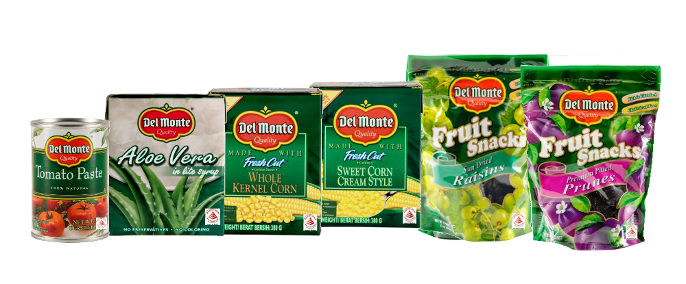 Nobody packs in goodness <span>like Del Monte</span>